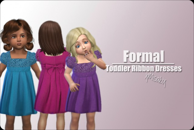 Toddler Ribbon Dresses by xMisakix