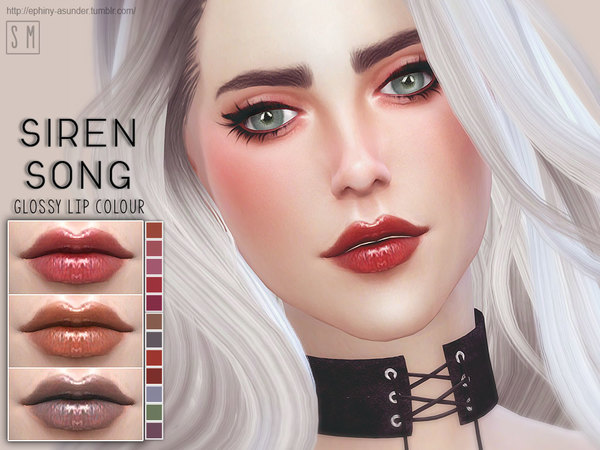 [ Siren Song ] - Glossy Lip Colour by Screaming Mustard