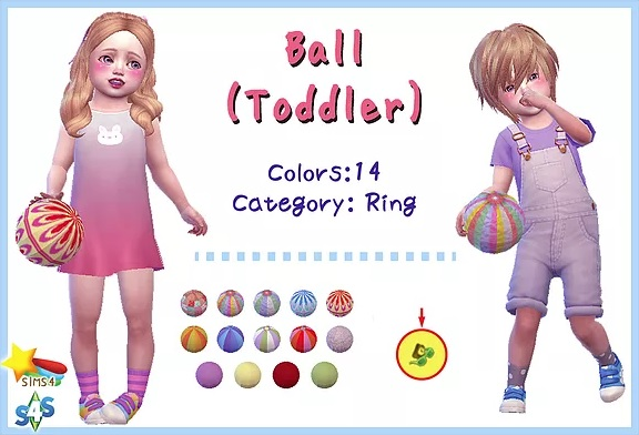 Ball (Toddler) by A-luckyday