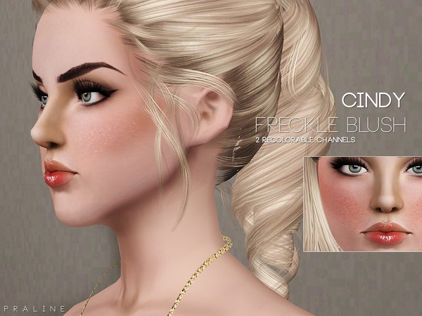 Cindy Blush by Pralinesims