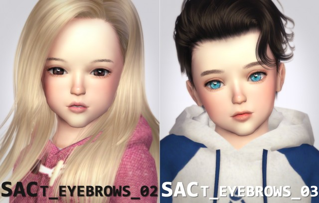 t_eyebrows_02 & 03 by SAC