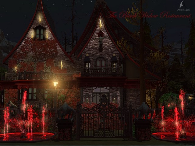 The Black Widow Restaurant & Bar (No CC) by Avenicci