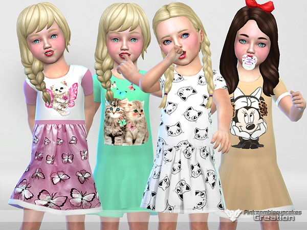 Nightgowns Collection 02(toddler) by Pinkzombiecupcakes