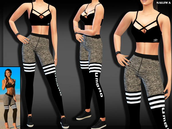 Umbro Fitness Outfit by Saliwa