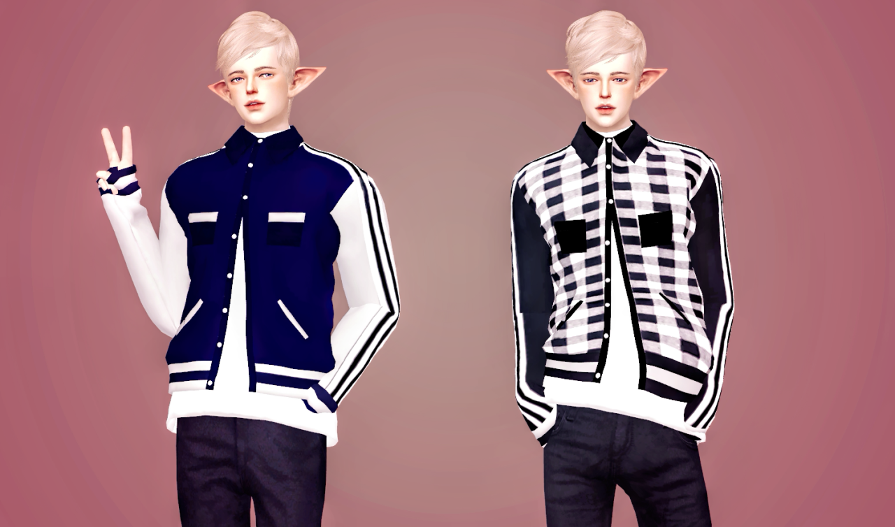 Layered Jacket by MeeyouX