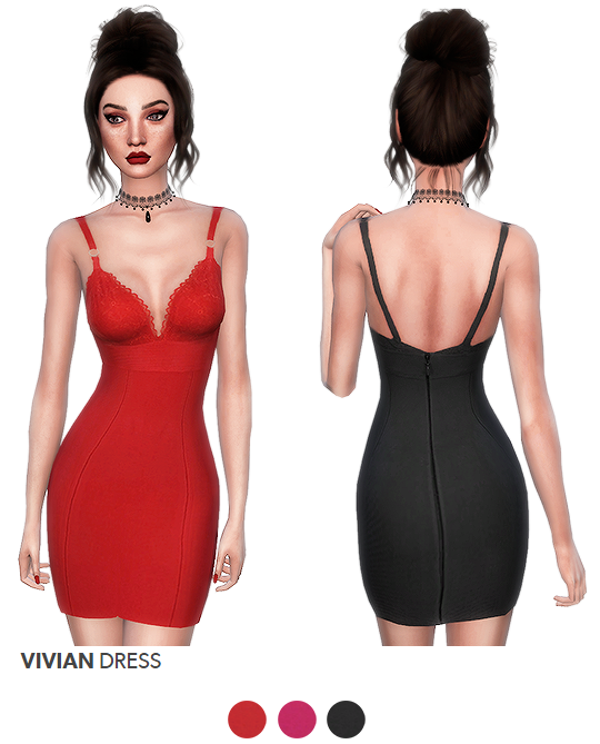 VIVIAN DRESS by its-leeloo