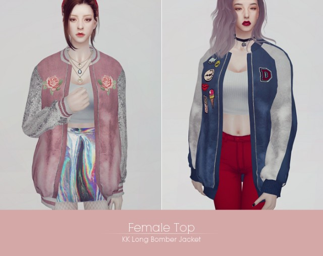 Long bomber jacket by ooobsooo