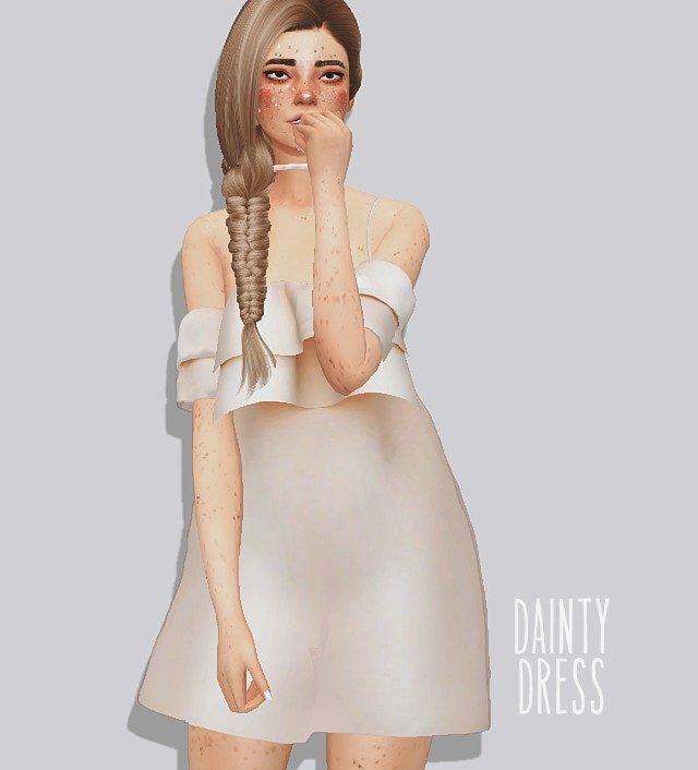 Dainty dress by puresims