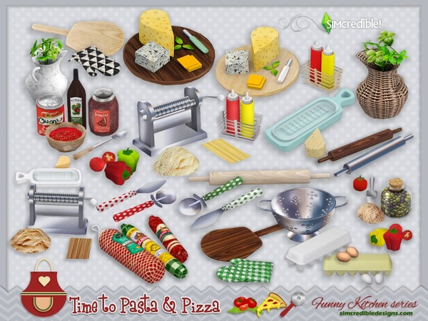 Funny kitchen series - Time to Pasta and Pizza by SIMcredible