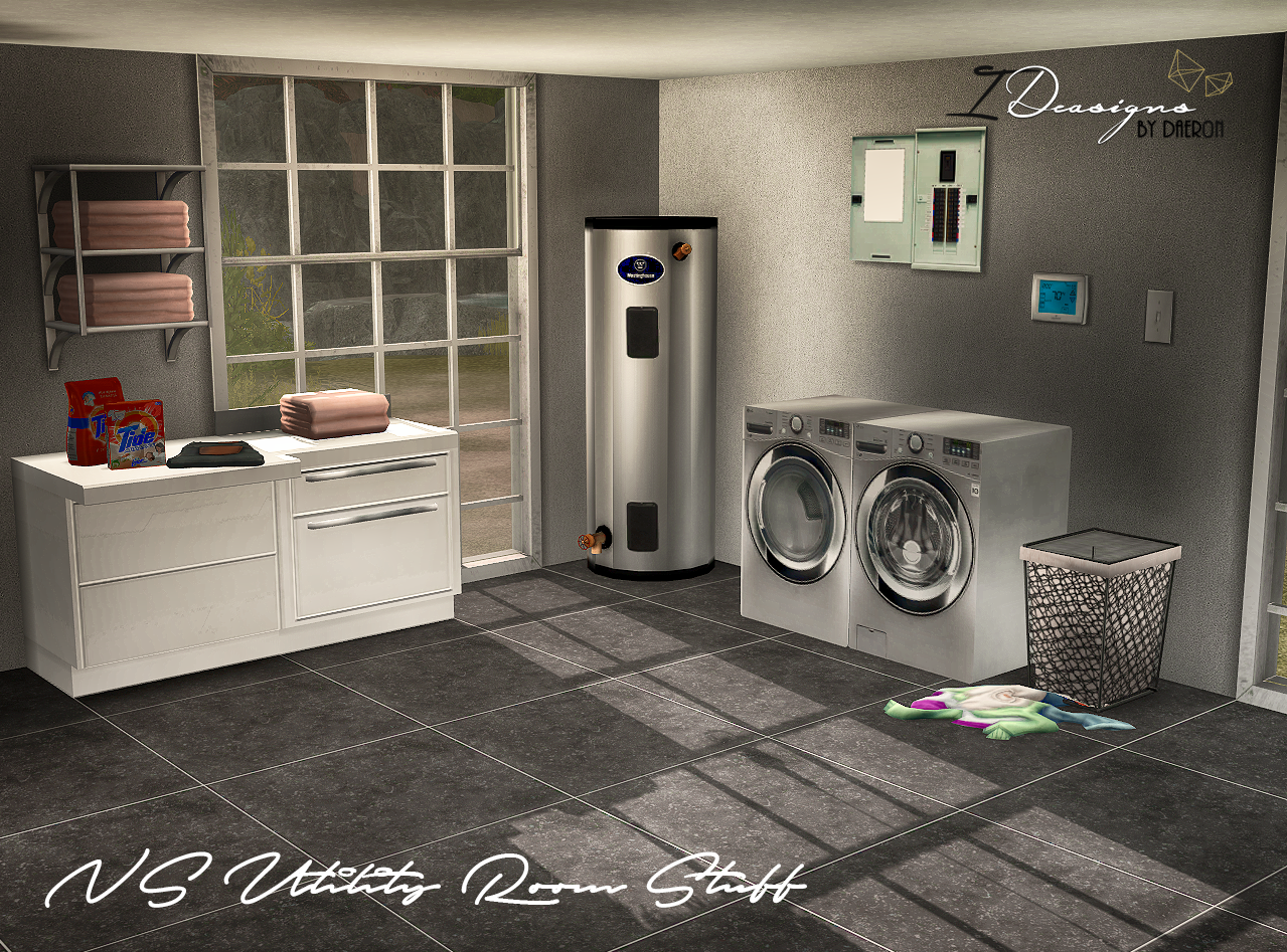 NS Utility Room Stuff (New Meshes) by Daer0n