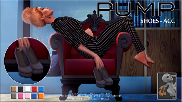 Pump - ACC + POSE PACK by VictorrMiguell