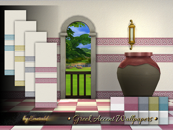 Greek Accent Wallpapers by emerald
