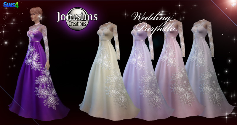Wedding Dresses by JomSims