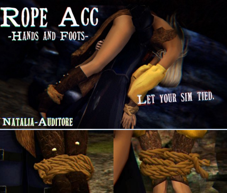 Rope Acc - Hands and Foots by natalia-auditore