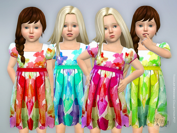Toddler Dresses Collection P07 by lillka