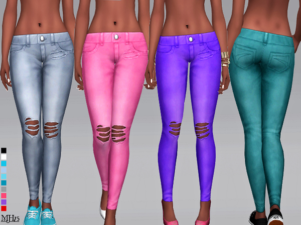 S4 Simmer Ripped Jeans by Margeh-75