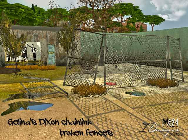 Gelinas Dixon Chainlink Broken Fences by Abandoned