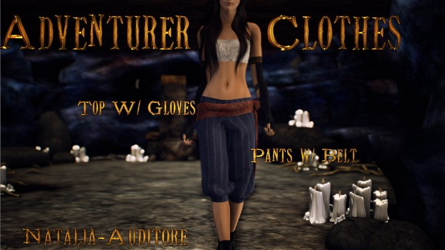Adventurer Clothes by natalia-auditore