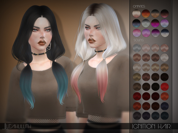 LeahLillith Ignition Hair by Leah Lillith