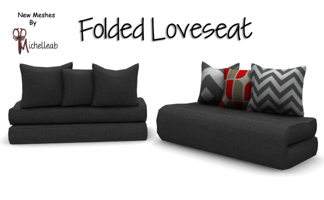 Folded Loveseat by Michelleab
