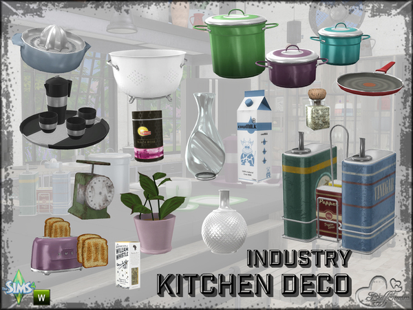 Kitchen Industry Decoration by BuffSumm