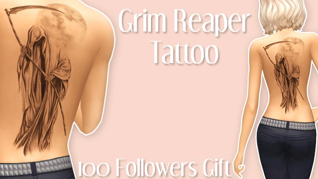 Grim Reaper Tattoo by Sunshinensadness