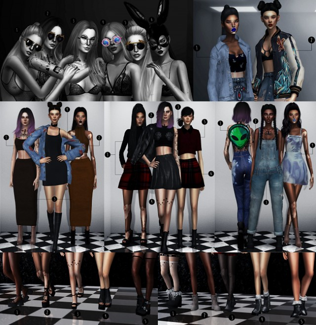 KILL vs. MAIM Collection by Candycanesugary