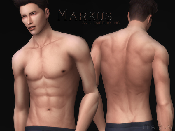 Markus Skin Overlay HQ by Ms Blue
