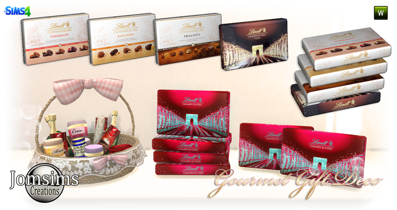 Gourmet Gift Deco by JomSims