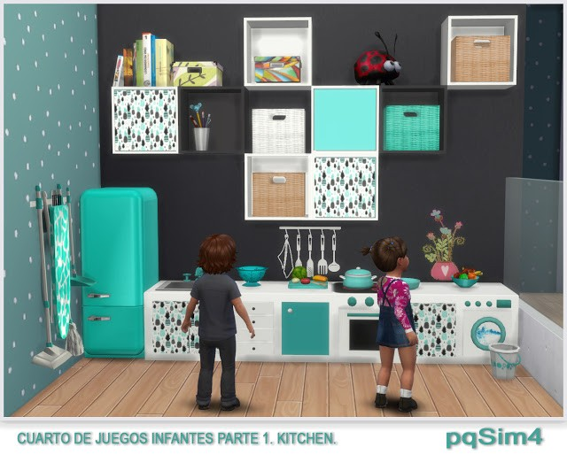 Toddler Kitchen Play Set by pqsim4