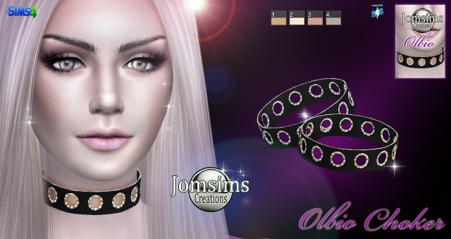 Olbio choker by JomSims