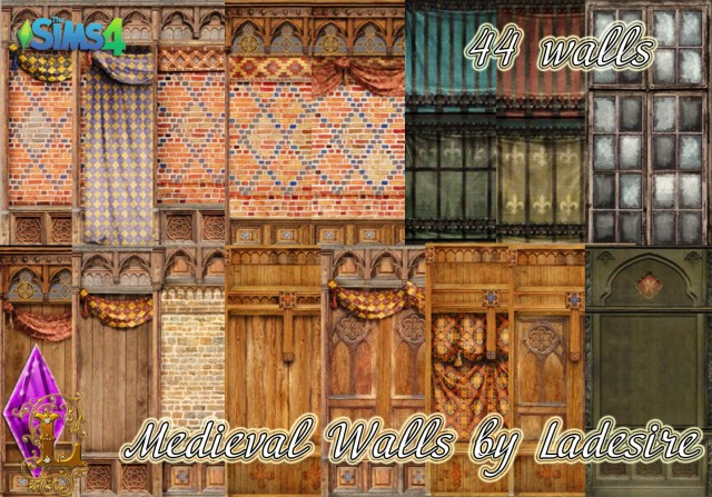 Medieval Walls by Ladesire