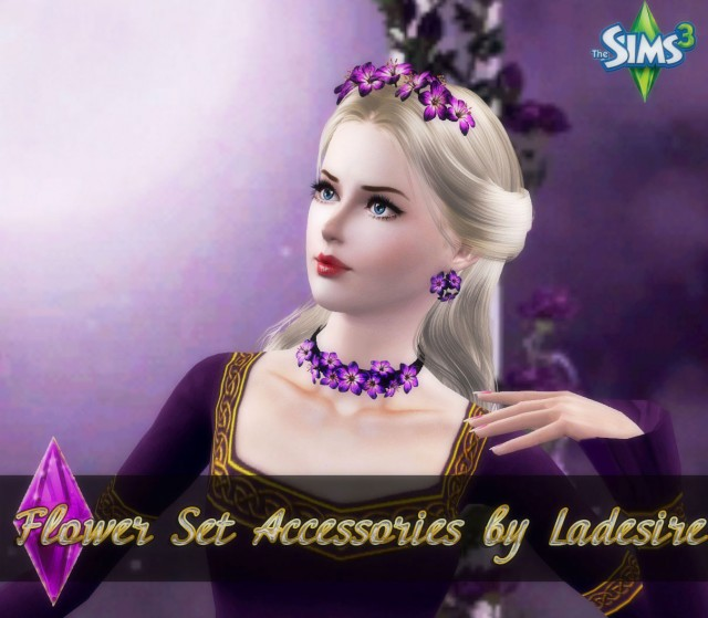 Flower Set Accessories от Ladesire