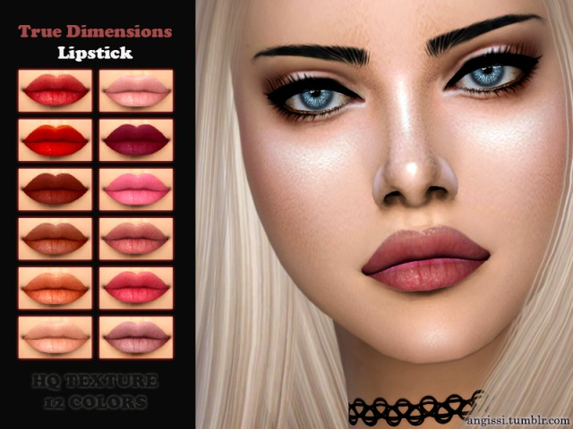 True Dimensions Lipstick by ANGISSI