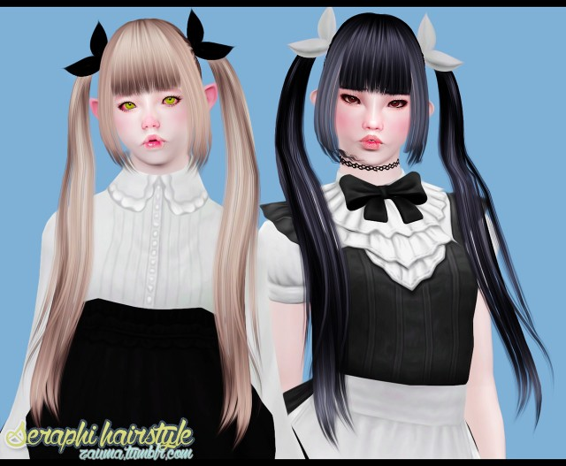 Seraphi Hairstyle by zauma