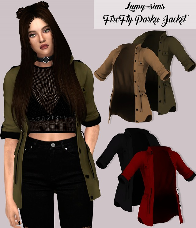 Firefly Parka Jacket by lumy-sims
