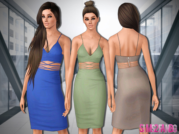 487 - Pencil Dress by sims2fanbg