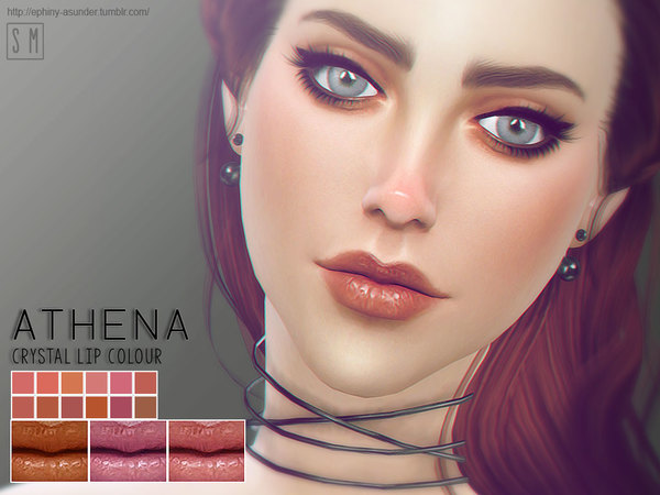 [ Athena ] - Crystal Lip Colour by Screaming Mustard