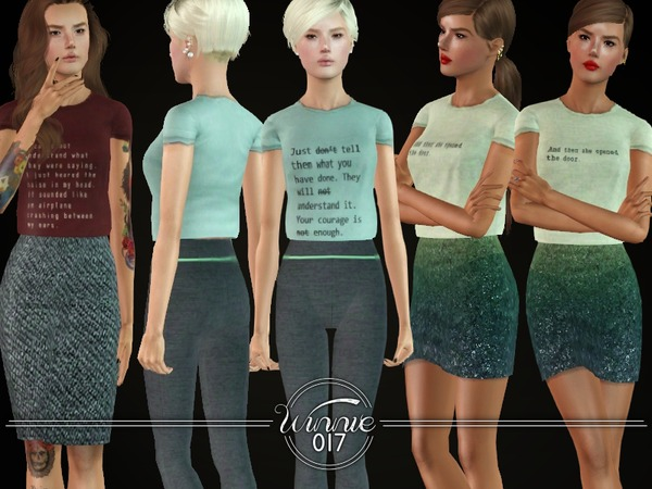 The Anette T-Shirt by winnie017