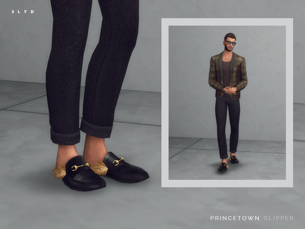 Princetown Slipper (Male version) by SLYD
