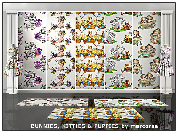 Bunnies, Kitties & Puppies_marcorse