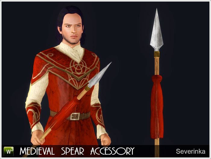 Medieval spear by Severinka