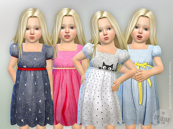 Toddler Dresses Collection P09 by lillka