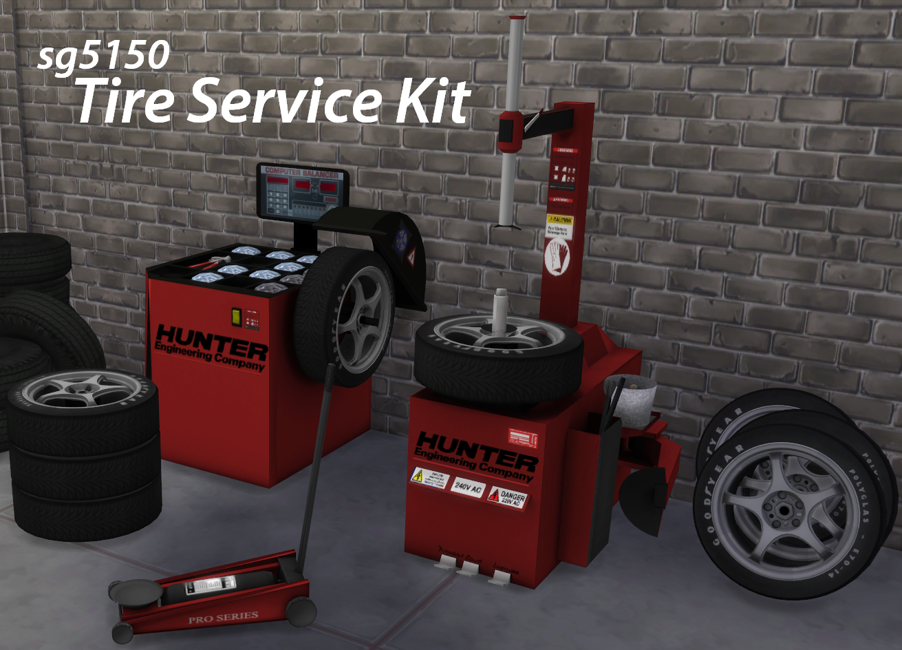 Tire Service Kit and TS3 1956 Ford F-100 Pickup Conversion by sg5150