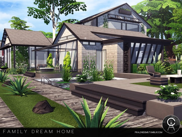 Family Dream Home by Pralinesims