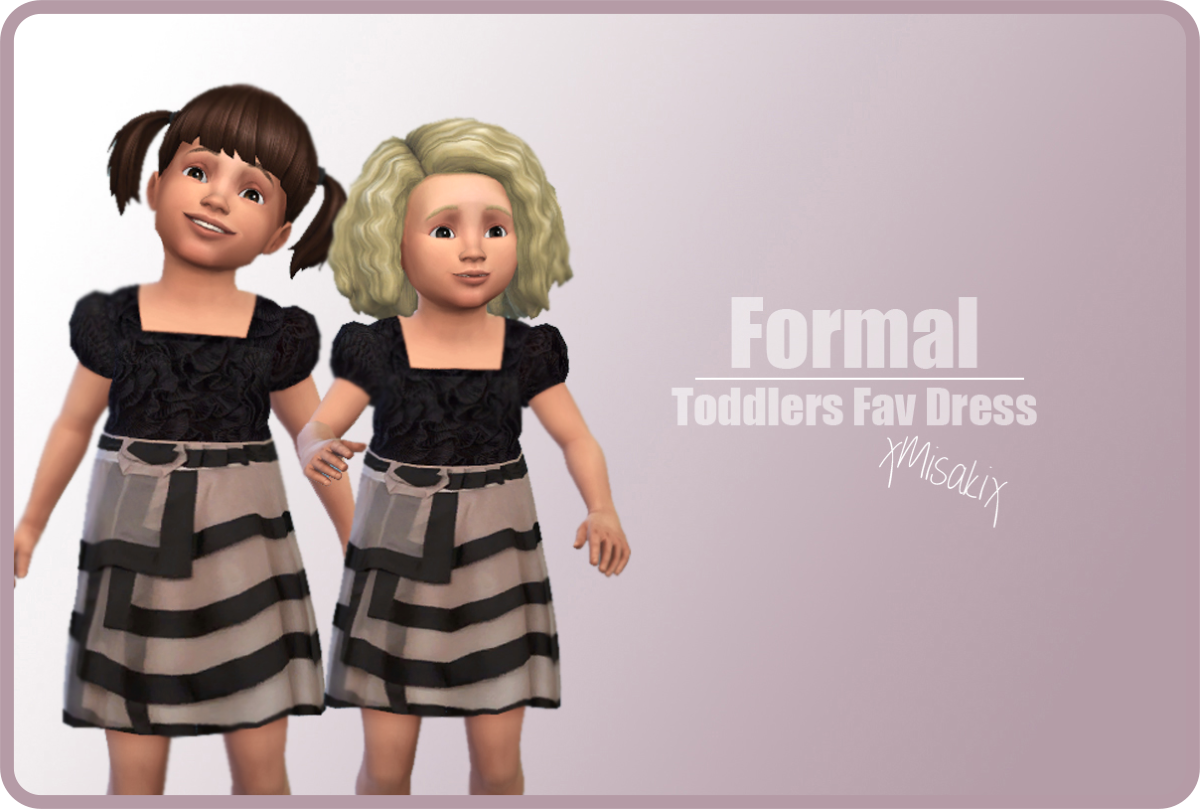 Formal Dress for Toddlers by xMisakix