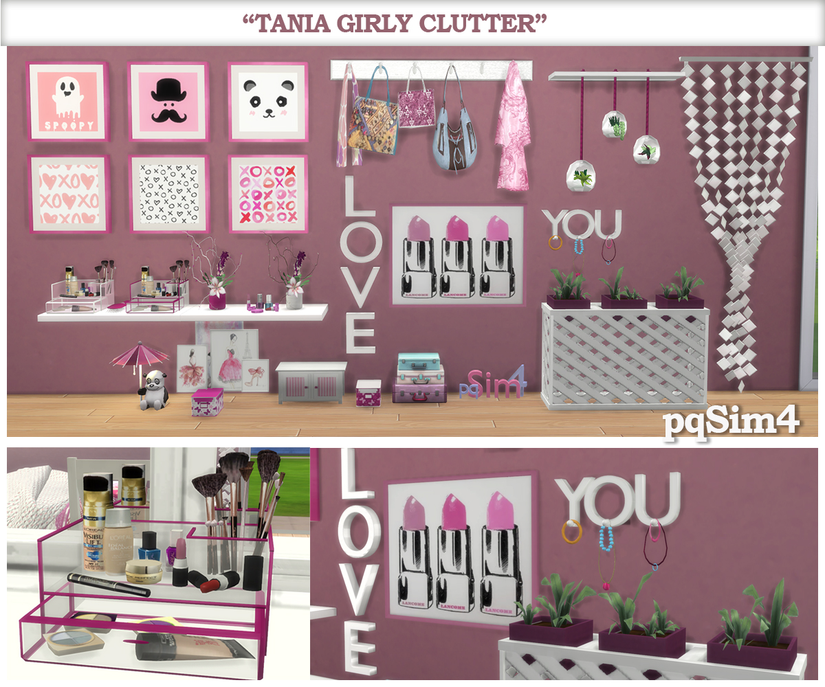 Girly Clutter by pqSim4