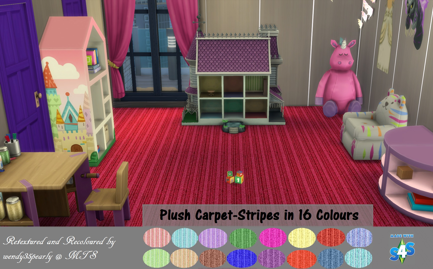 Plush Comfort Carpeting-16 Colors by wendy35pearly