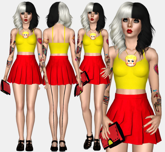Melanie Martinez on Instagram 2014 Outfit by Renansims