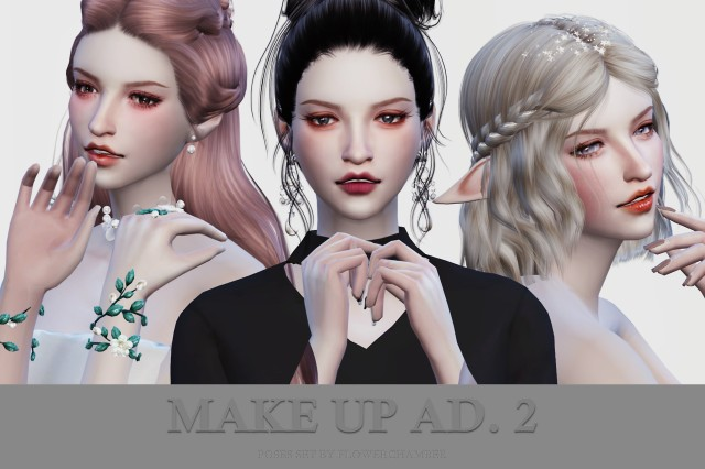 Make Up Ad. 2 by flowerchamber